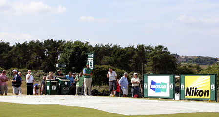 斗山连续四年赞助英国高尔夫球冠军公开赛,提升全球品牌价值